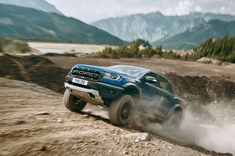 Ford Ranger Raptor debütiert in Europa - Präsentation des ultimativen Performance-Pick-ups auf der Gamescom